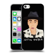 Official Justin Bieber Justmojis Funny Face Soft Gel Case For Apple Iphone 5C