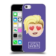 Official Justin Bieber Justmojis Heart Eyes Soft Gel Case For Apple Iphone 5C
