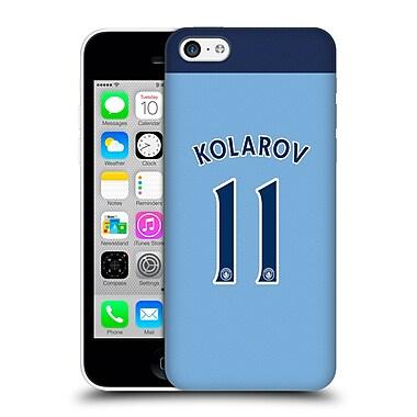 Official Manchester City Man City Fc Player Home Kit 2016/17 Group 1 Kolarov Hard Back Case For Apple Iphone 5C