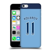 Official Manchester City Man City Fc Player Home Kit 2016/17 Group 1 Kolarov Hard Back Case For Apple Iphone 5C