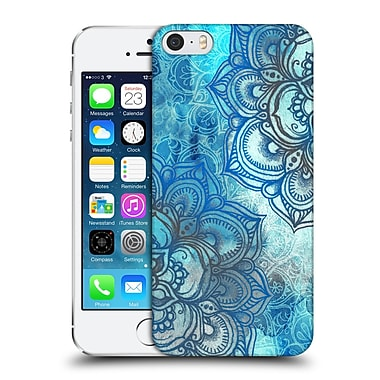 Official Micklyn Le Feuvre Mandala 3 Lost In Blue A Daydream Made Visible Hard Back Case For Apple Iphone 5 / 5S / Se