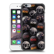 Official Ac/Dc Acdc Button Pins Group Hard Back Case For Apple Iphone 6 / 6S