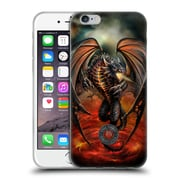 Official Anne Stokes Dragons Lava Soft Gel Case For Apple Iphone 6 / 6S