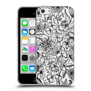 Official Micklyn Le Feuvre Florals 2 Hand Drawn Floral Soft Gel Case For Apple Iphone 5C