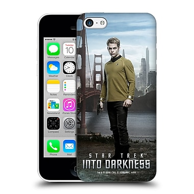 Official Star Trek Characters Into Darkness Xii Captain Kirk Hard Back Case For Apple Iphone 5C