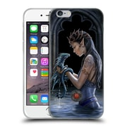 Official Anne Stokes Dragon Friendship Water Soft Gel Case For Apple Iphone 6 / 6S