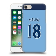 Official Manchester City Man City Fc Player Home Kit 2016/17 Group 1 Delph Hard Back Case For Apple Iphone 7