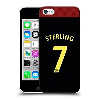 Official Manchester City Man City Fc Away Kit 2016/17 2 Sterling Hard Back Case For Apple Iphone 5C