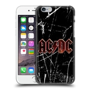 Official Ac/Dc Acdc Logo Red Grunge Hard Back Case For Apple Iphone 6 / 6S