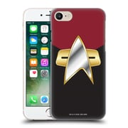 Official Star Trek Uniforms And Badges Ds9 Command Hard Back Case For Apple Iphone 7