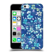 Official Micklyn Le Feuvre Florals 2 Grown Up Betty Blue Watercolour Floral Soft Gel Case For Apple Iphone 5C