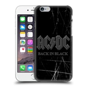 Official Ac/Dc Acdc Logo Back In Black Hard Back Case For Apple Iphone 6 / 6S