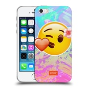 Official Emoji Solos Kiss Soft Gel Case For Apple Iphone 5 / 5S / Se