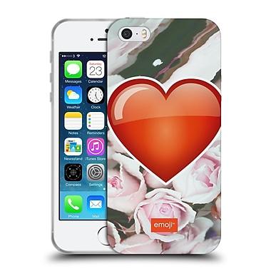 Official Emoji Solos Heart Soft Gel Case For Apple Iphone 5 / 5S / Se