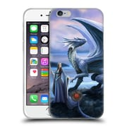 Official Anne Stokes Dragon Friendship New Horizons Soft Gel Case For Apple Iphone 6 / 6S