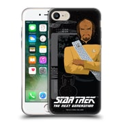 Official Star Trek Iconic Characters Tng Lieutenant Worf Soft Gel Case For Apple Iphone 7