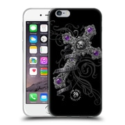 Official Anne Stokes Dark Hearts Lost Love Cross Soft Gel Case For Apple Iphone 6 / 6S