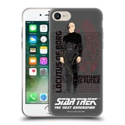 Official Star Trek Iconic Characters Tng Locutus Of Borg Soft Gel Case For Apple Iphone 7