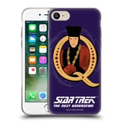 Official Star Trek Iconic Characters Tng Q Soft Gel Case For Apple Iphone 7