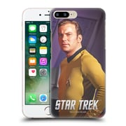 Official Star Trek Embossed Captain Kirk Half Pose Hard Back Case For Apple Iphone 7 Plus