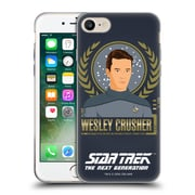 Official Star Trek Iconic Characters Tng Wesley Crusher Soft Gel Case For Apple Iphone 7