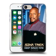 Official Star Trek Iconic Characters Ds9 Benjamin Sisko Soft Gel Case For Apple Iphone 7