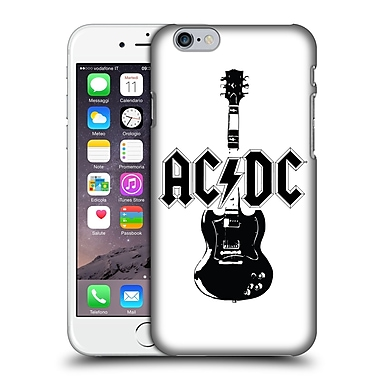Official Ac/Dc Acdc Iconic Lead Guitar Hard Back Case For Apple Iphone 6 / 6S
