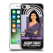 Official Star Trek Iconic Characters Tng Deanna Troi Soft Gel Case For Apple Iphone 7