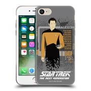 Official Star Trek Iconic Characters Tng Data Soft Gel Case For Apple Iphone 7