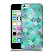 Official Micklyn Le Feuvre Moroccan Mint Green Hard Back Case For Apple Iphone 5C