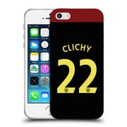 Official Manchester City Man City Fc Away Kit 2016/17 1 Clichy Soft Gel Case For Apple Iphone 5 / 5S / Se