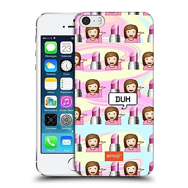 Official Emoji Speech Bubbles Sassy Lady Hard Back Case For Apple Iphone 5 / 5S / Se