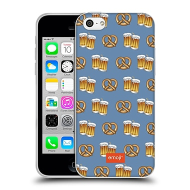Official Emoji Oktoberfest Beer And Pretzel Soft Gel Case For Apple Iphone 5C