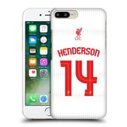 Official Liverpool Football Club Shirt Away Shirt White Henderson Hard Back Case For Apple Iphone 7 Plus
