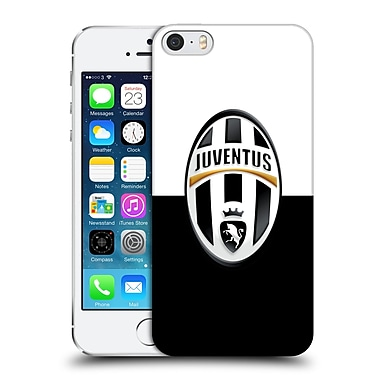 Official Juventus Football Club Crest Black And White Hard Back Case For Apple Iphone 5 / 5S / Se