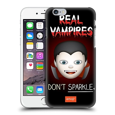 Official Emoji Halloween Parodies Real Vampires Hard Back Case For Apple Iphone 6 / 6S