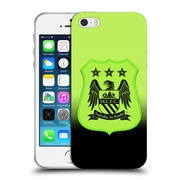 Official Manchester City Man City Fc Crest Kit Third Kit Mono Soft Gel Case For Apple Iphone 5 / 5S / Se