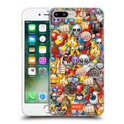 Official Emoji Full Patterns Assorted Hard Back Case For Apple Iphone 7 Plus
