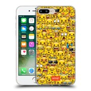 Official Emoji Full Patterns Cat Soft Gel Case For Apple Iphone 7 Plus