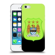 Official Manchester City Man City Fc Crest Kit Third Kit Soft Gel Case For Apple Iphone 5 / 5S / Se