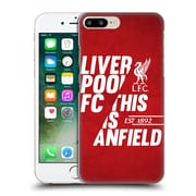 Official Liverpool Football Club Anfield Red 4 Hard Back Case For Apple Iphone 7 Plus