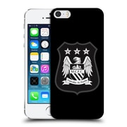 Official Manchester City Man City Fc Crest Kit Mono White Hard Back Case For Apple Iphone 5 / 5S / Se