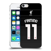 Official Liverpool Football Club Shirt New Away Shirt Black Firmino Hard Back Case For Apple Iphone 5 / 5S / Se