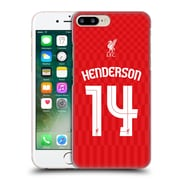 Official Liverpool Football Club Shirt Home Shirt Red Henderson Hard Back Case For Apple Iphone 7 Plus