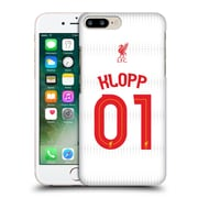 Official Liverpool Football Club Shirt Away Shirt White Klopp Hard Back Case For Apple Iphone 7 Plus