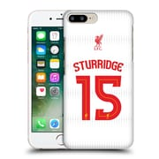 Official Liverpool Football Club Shirt Away Shirt White Sturridge Hard Back Case For Apple Iphone 7 Plus