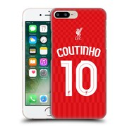 Official Liverpool Football Club Shirt Home Shirt Red Coutinho Hard Back Case For Apple Iphone 7 Plus