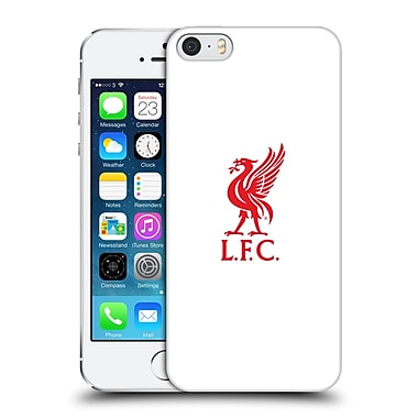 Official Liverpool Football Club Liver Bird Red Logo On White Hard Back Case For Apple Iphone 5 / 5S / Se