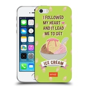Official Emoji Funny Summer Quotes Ice Cream Soft Gel Case For Apple Iphone 5 / 5S / Se