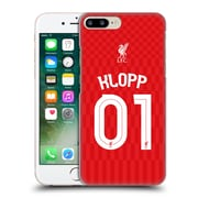 Official Liverpool Football Club Shirt Home Shirt Red Klopp Hard Back Case For Apple Iphone 7 Plus